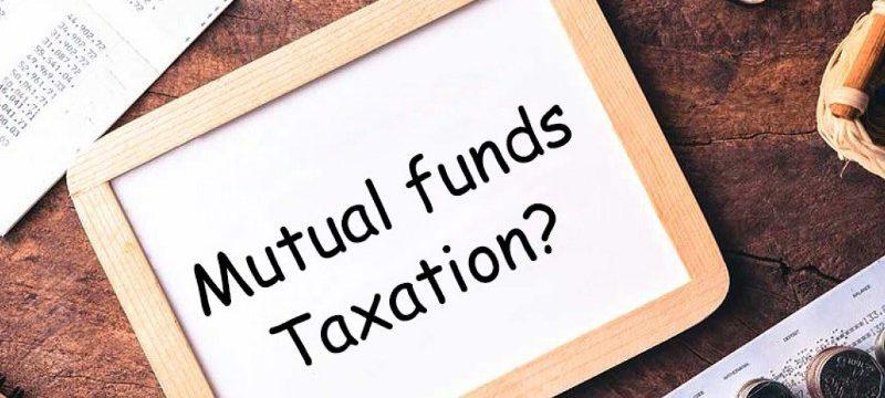 mutual funds taxation